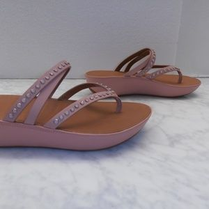 Shoes - FITFLOP Linny Criss Cross Studded Sandals pink 6